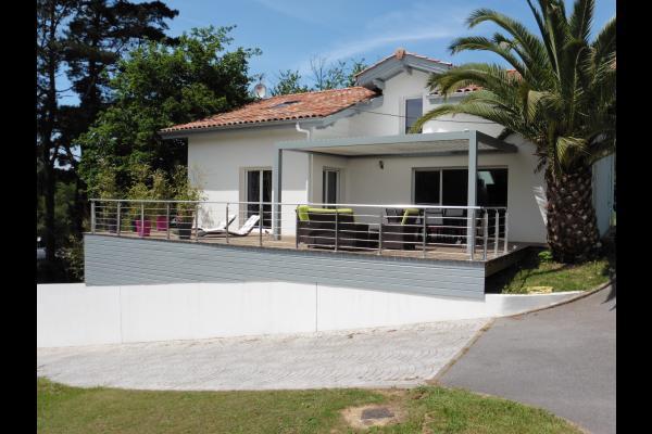 Maison De Charme Avec Piscine Sur La Cte Basque  Hendaye Location