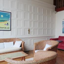 Résidence le golf_St Jean de Luz_séjour - Location de vacances - Saint-Jean-de-Luz