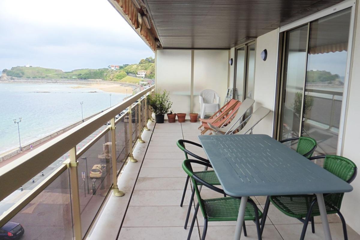 Résidence Maitagarria_St Jean de Luz_terrasse - Location de vacances - Saint-Jean-de-Luz