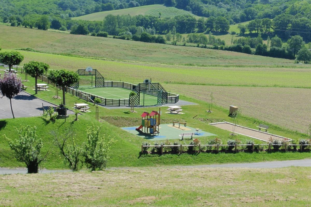 Aire de jeux - Location de vacances - Balansun