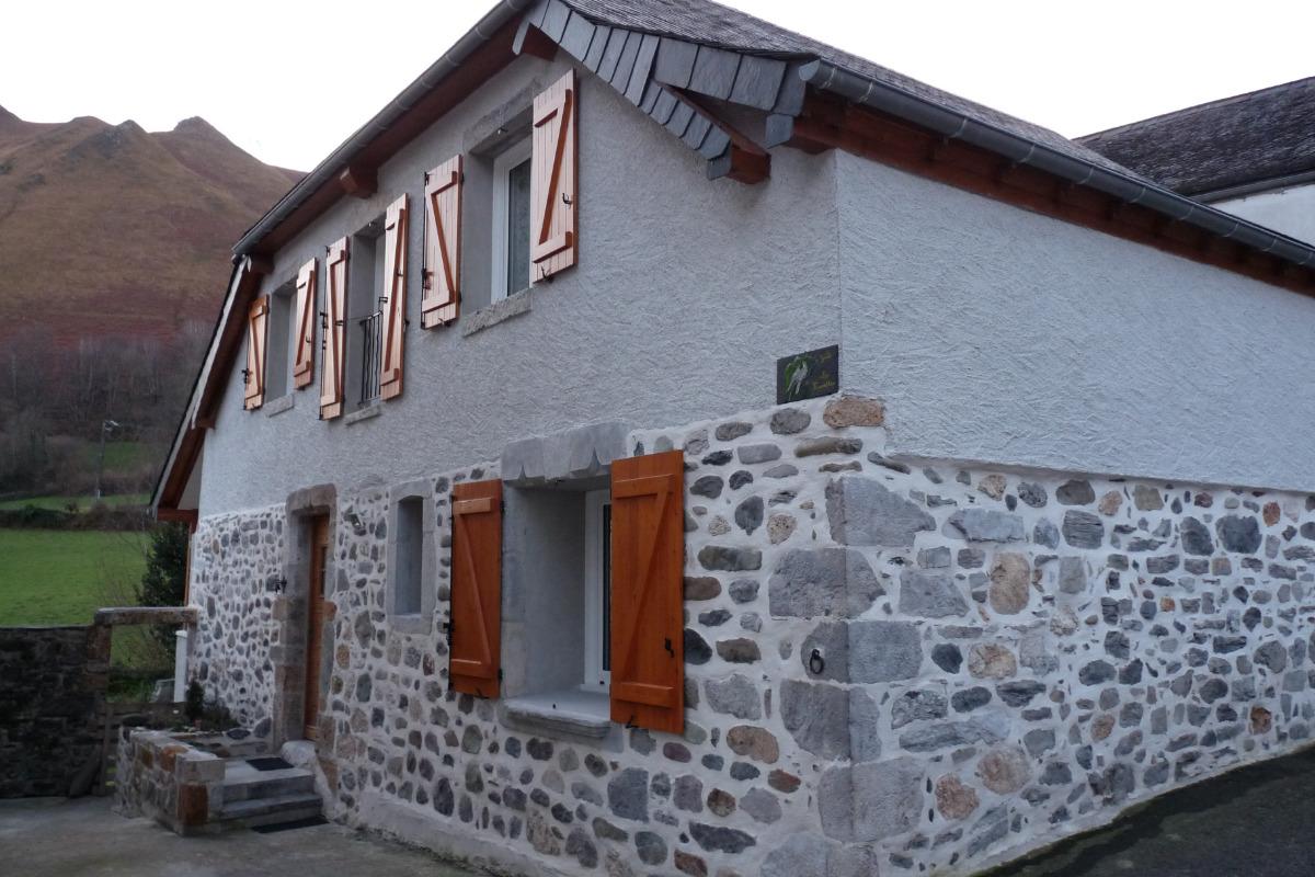 Gîte Les Fauvettes_ 9 rue d'en Haut - Osse en Aspe - Location de vacances - Osse-en-Aspe