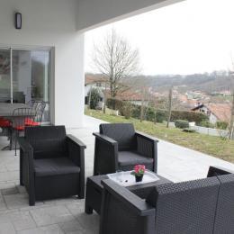 Maison Txantxangorri_terrasse - Location de vacances - Briscous