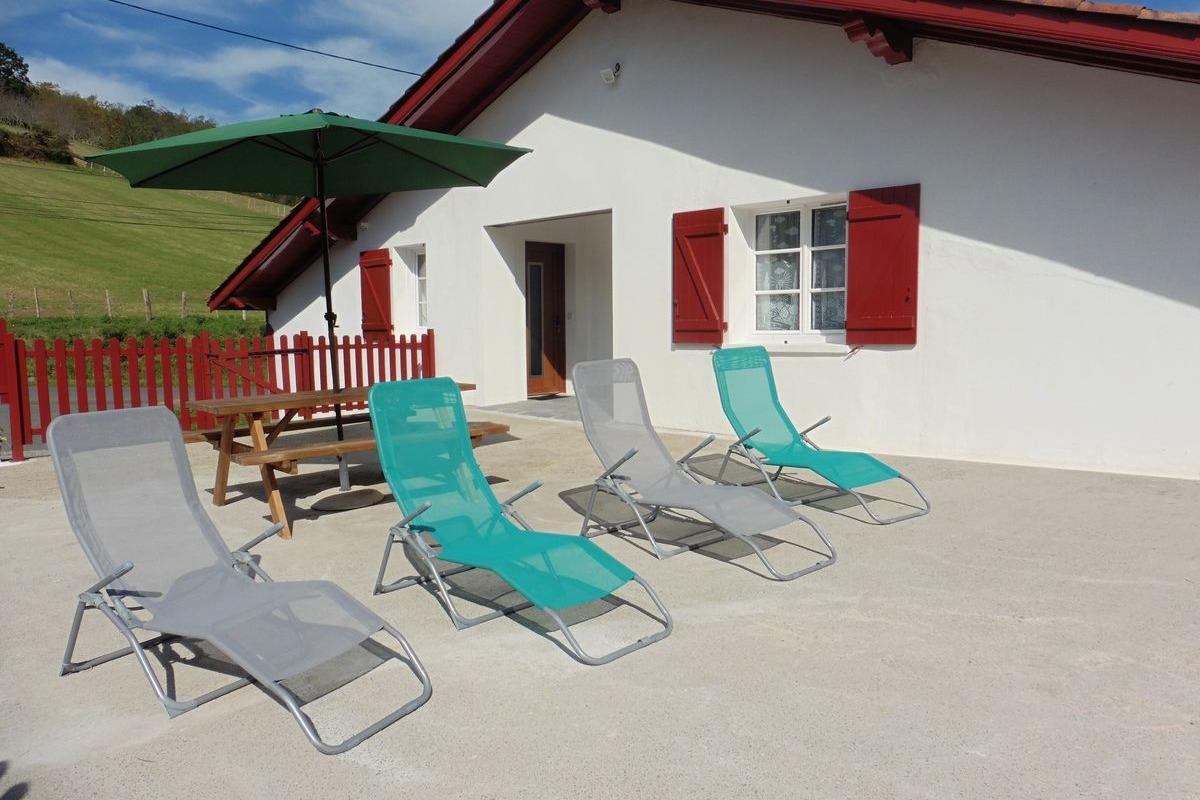 Appartement Itxassou_terrasse - Location de vacances - Itxassou
