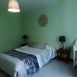 Maison Zubiatia - chambre verte - Chambre d'hôtes - Saint-Jean-le-Vieux