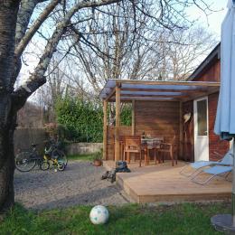 Jardin privatif - Location de vacances - Ger