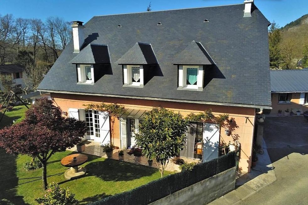 1° chambre avec 1 lit double - Location de vacances - Aspin-en-Lavedan