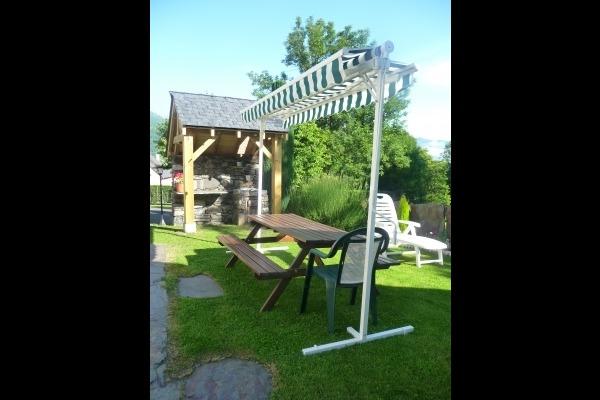 terrasse - Location de vacances - Villelongue