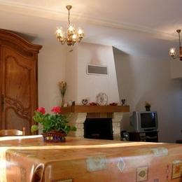 salle à manger - Location de vacances - Villelongue