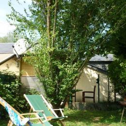 Jardin privé clos - Chambre d'hôtes - Ger