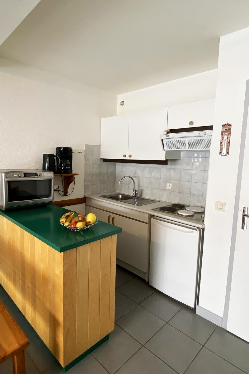 Espace salon-cuisine - Location de vacances - Loudenvielle