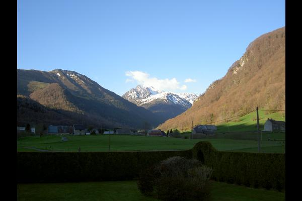 vue sur la montagne de la salle - Location de vacances - Sainte Marie De Campan