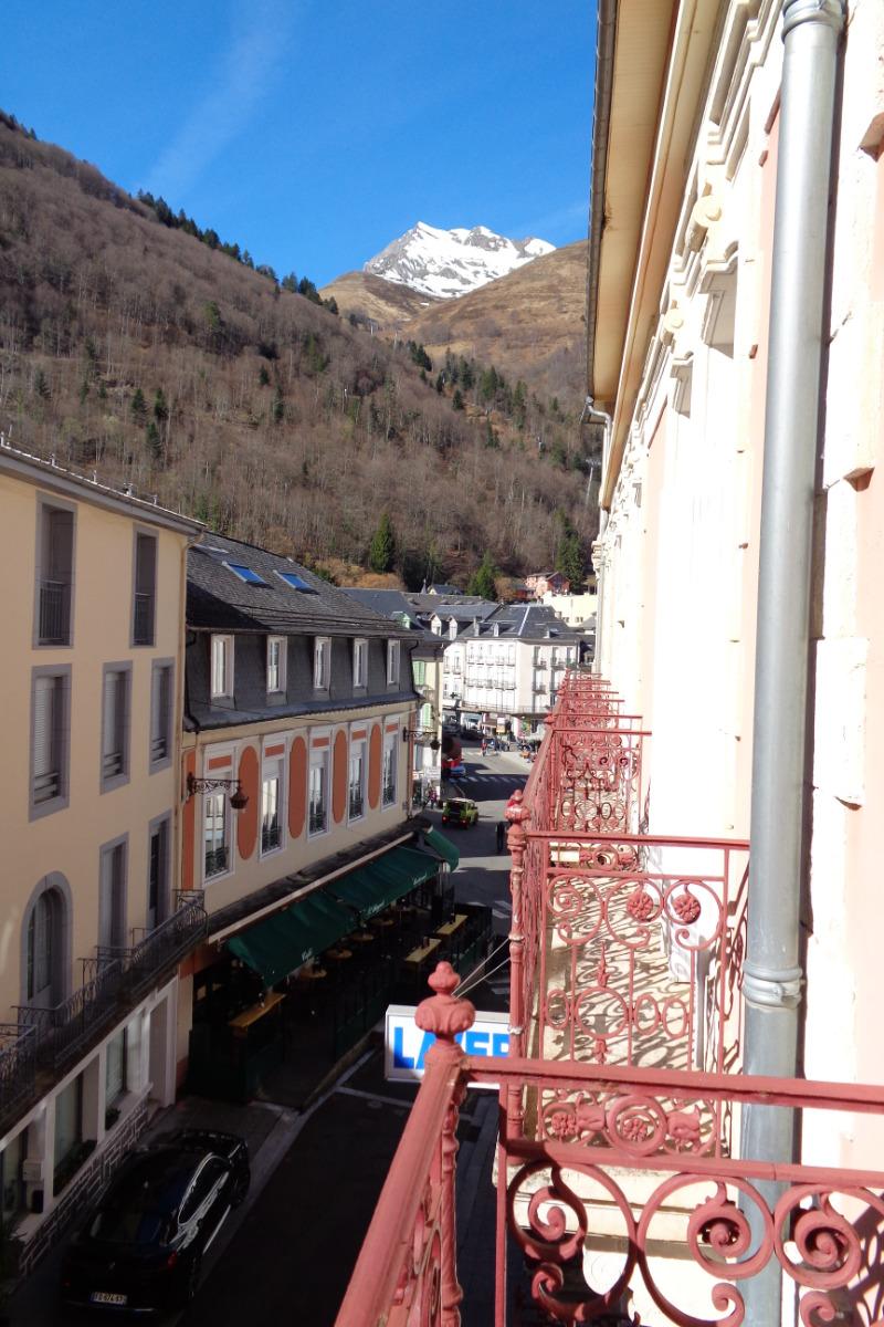 Vue depuis les balcons - Location de vacances - Cauterets