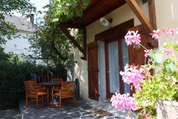 Espace repas - Dining area - Location de vacances - Viger