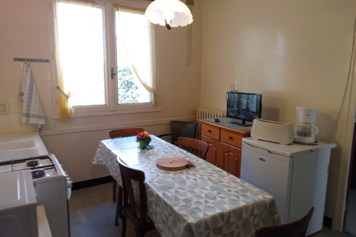 cuisine et coin repas - Location de vacances - Cauterets