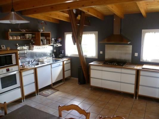 coin cuisine - Location de vacances - Ilheu