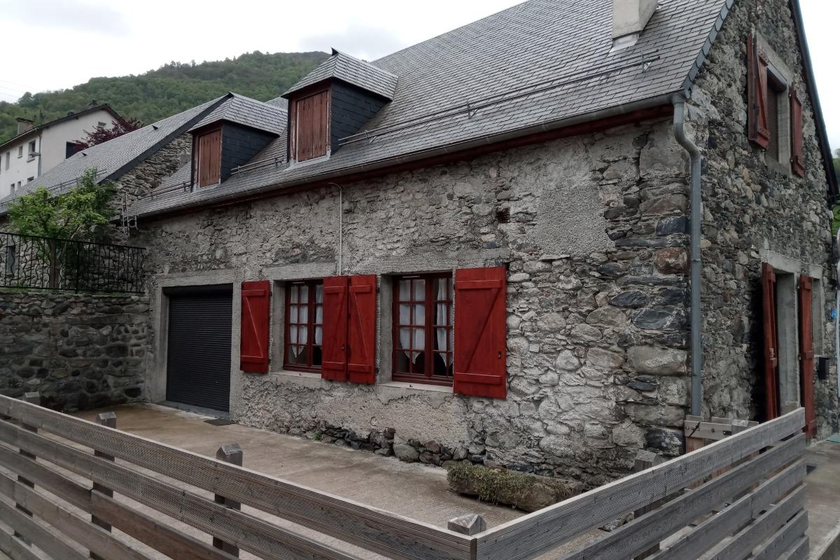 Terrasse  - Location de vacances - Luz-Saint-Sauveur