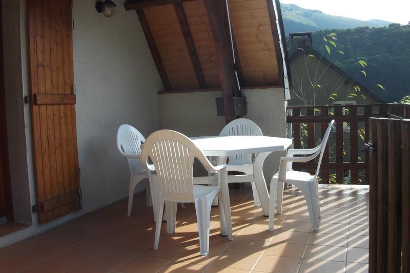 salle à manger /cheminée - Location de vacances - Sainte Marie De Campan
