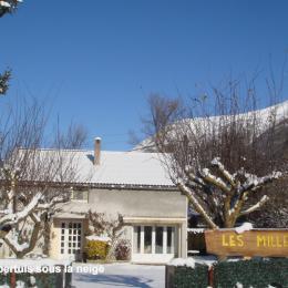 Hiver: les premières neige - Location de vacances - Luz-Saint-Sauveur