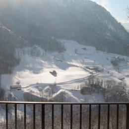 vue terrasse  - Location de vacances - Viey
