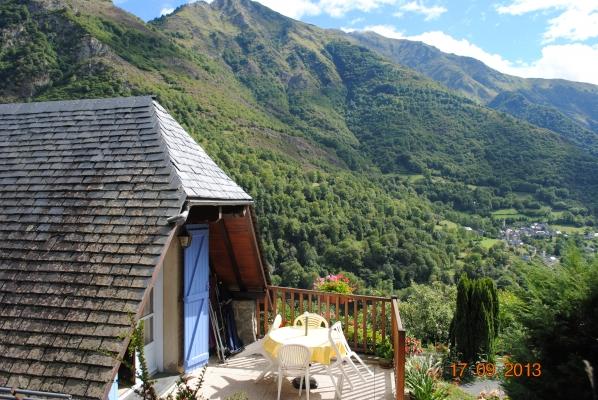 la terrasse - Location de vacances - Viscos