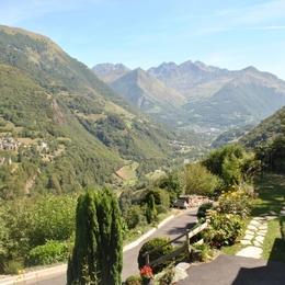 la vallée vue depuis la maison - Location de vacances - Viscos