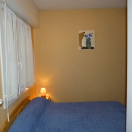 lits superposés dans chambre - Location de vacances - Cauterets