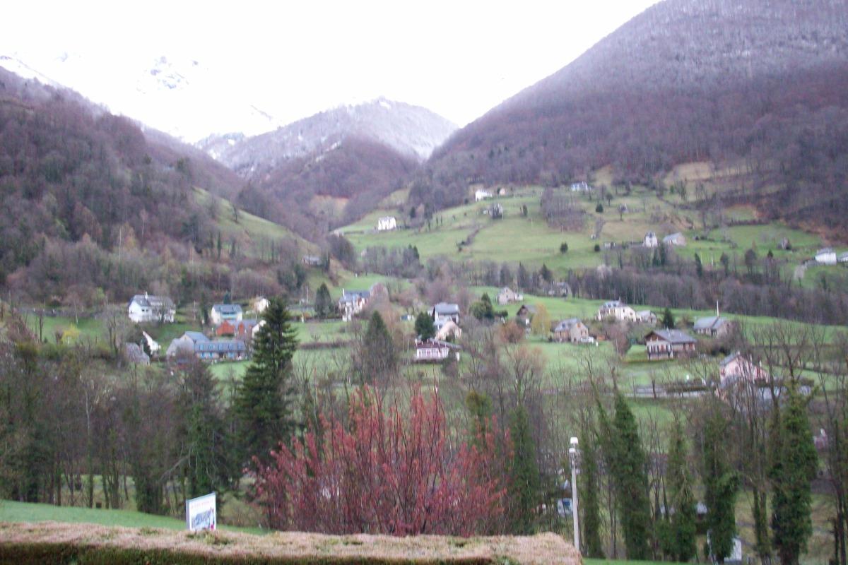 Vue de la terrasse  - Location de vacances - Cauterets