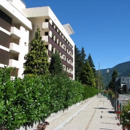 La résidence, sur la rue Vincent Mir - Location de vacances - Saint-Lary-Soulan