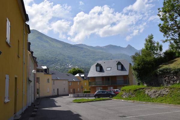 vue extérieur du parking - Location de vacances - Luz-Saint-Sauveur
