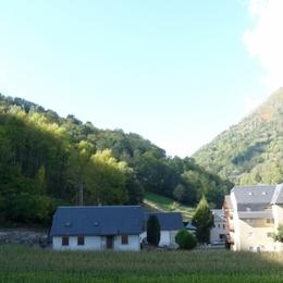 vue depuis l'appartement - Location de vacances - Saint-Lary-Soulan