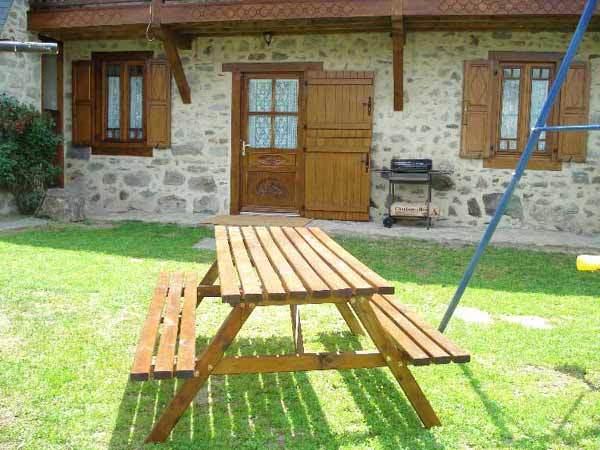 L'entrée du gîte - Location de vacances - Sireix