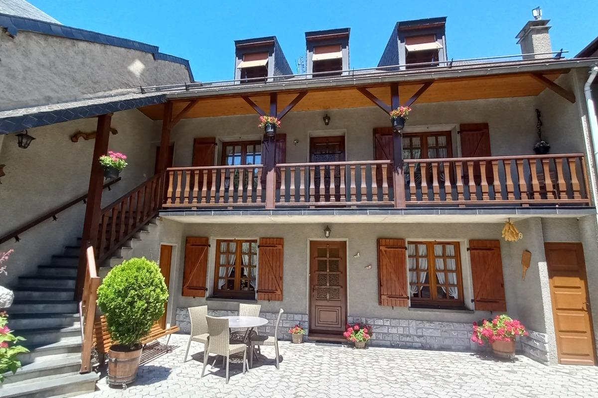 Coin salon - Location de vacances - Luz-Saint-Sauveur