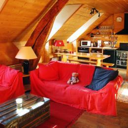 salon - Location de vacances - Luz-Saint-Sauveur