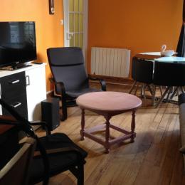 salon    salle a manger - Location de vacances - Lourdes