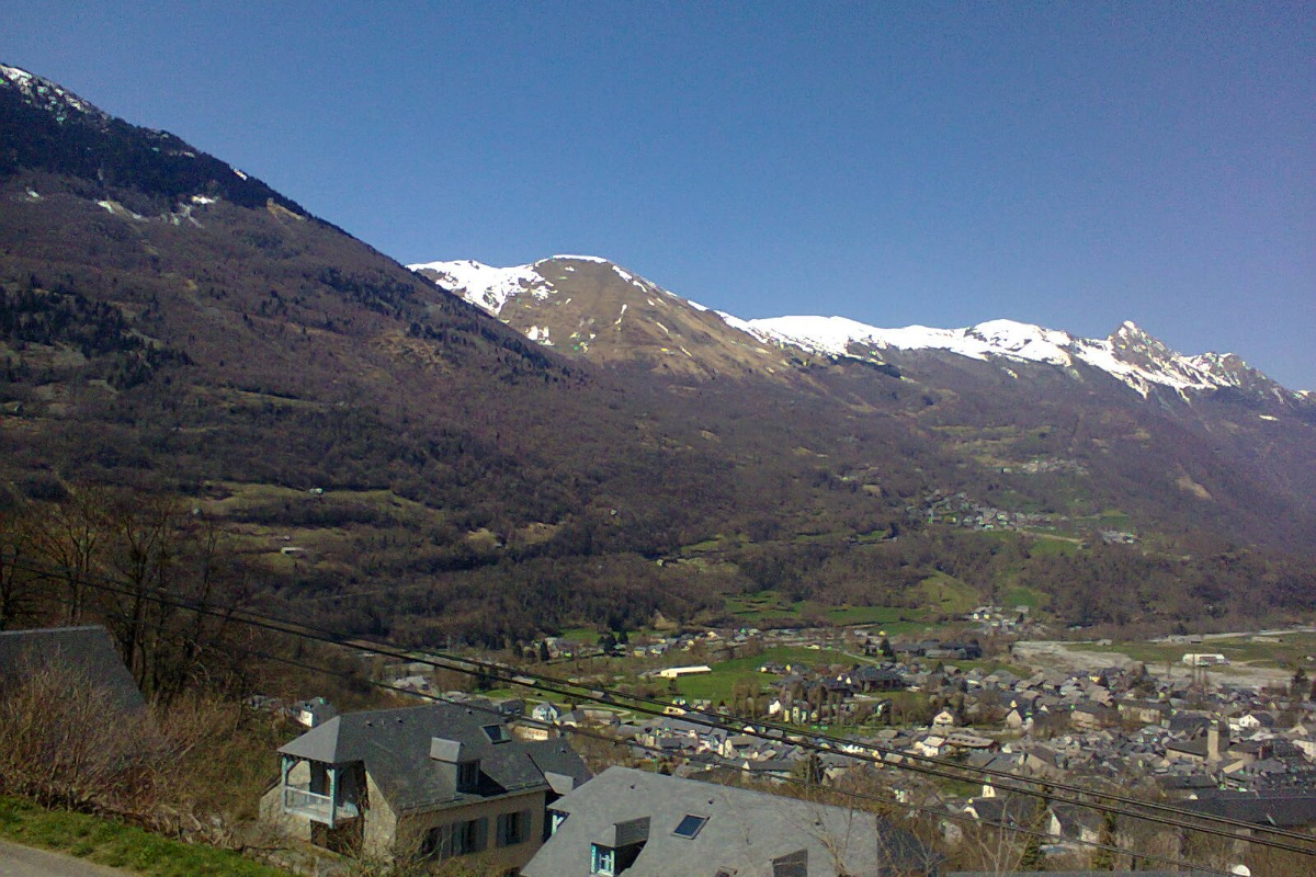 Luz Saint Sauveur vu de mon logement  - Location de vacances - Luz-Saint-Sauveur