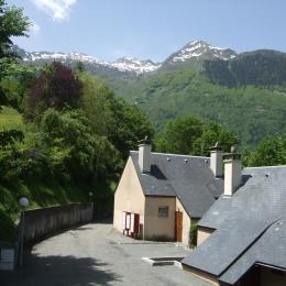 VUE DE LA FENETRE DE CHAMBRE  - Location de vacances - Luz-Saint-Sauveur