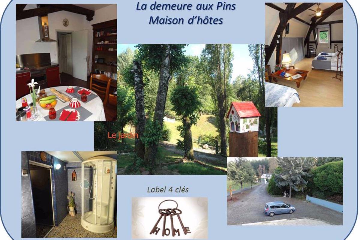 Vue générale - Chambre d'hôtes - Lourdes