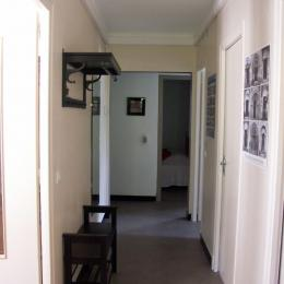 Couloir d'entrée - Location de vacances - Argelès-Gazost