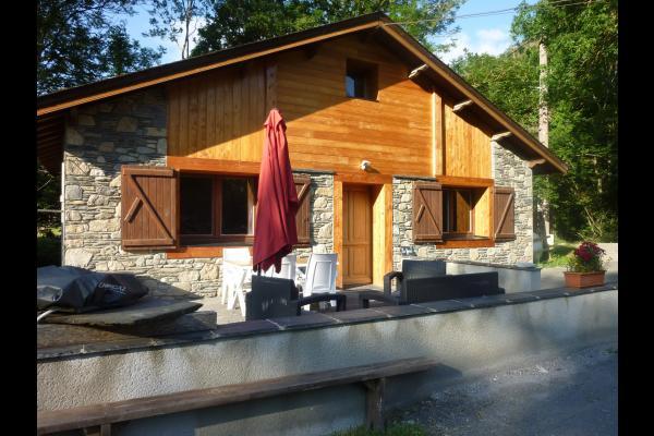 Le Fario, terrasse, plancha - Location de vacances - Camous