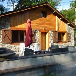 Le Fario, terrasse, plancha - Location de vacances - Fréchet-Aure