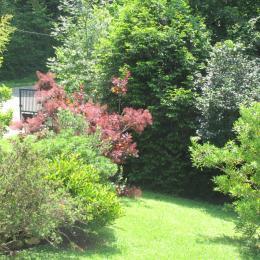 Vue du jardin - Location de vacances - Bagnères-de-Bigorre