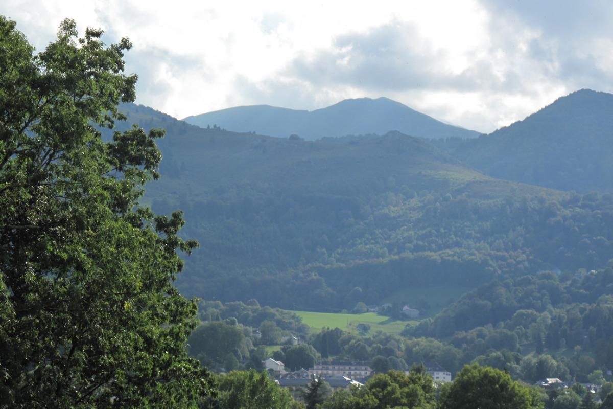 Vue de la montagne depuis le studio Joubarbe - Location de vacances - Bagnères-de-Bigorre