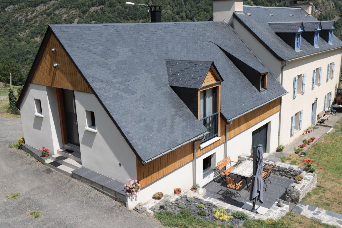 Le gite Castéra avec sa terrasse - Location de vacances - Gèdre