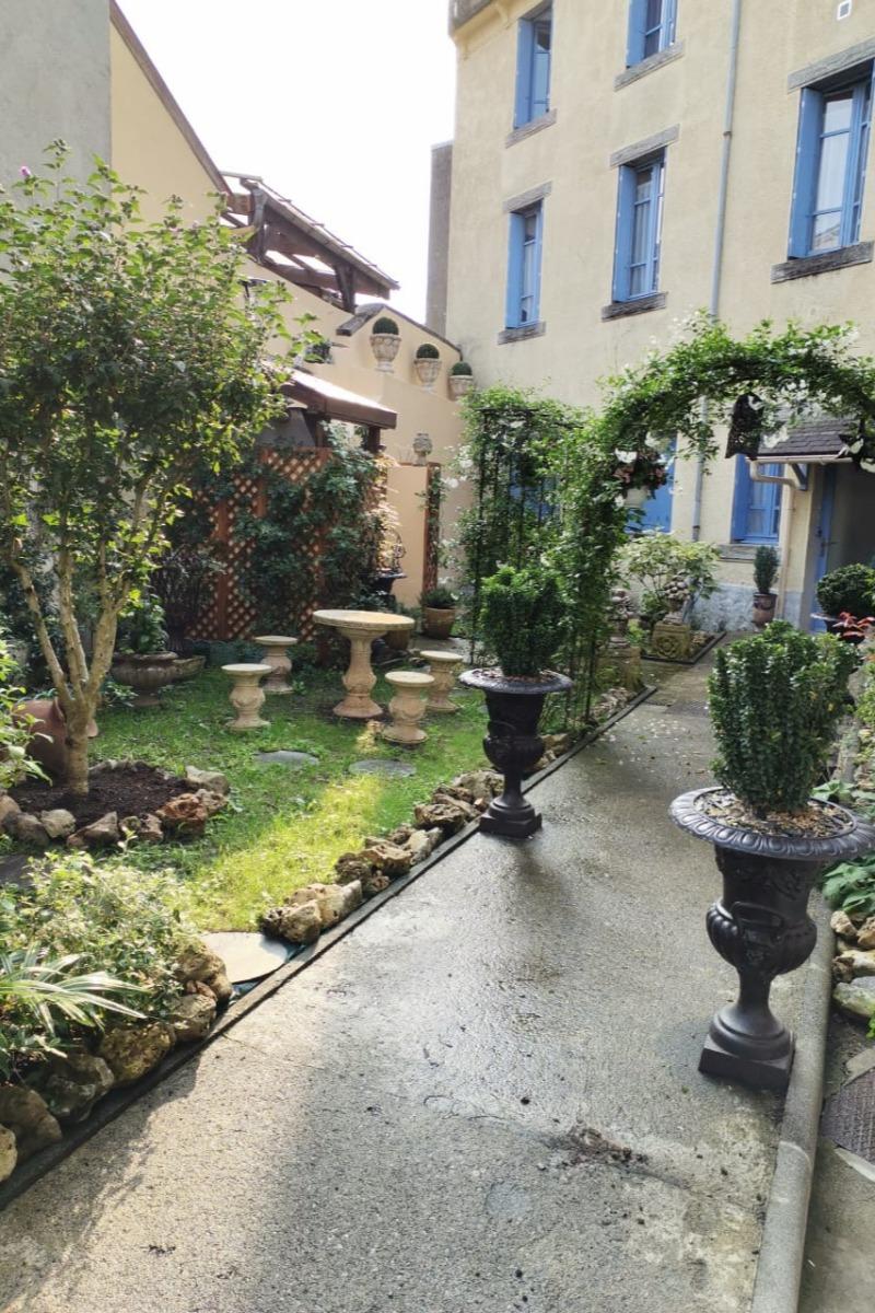 Entrée et jardin intérieur - Location de vacances - Lourdes