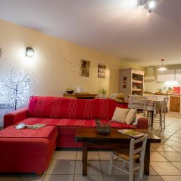 espace salon - Location de vacances - Arras-en-Lavedan
