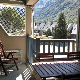 Balcon terrasse vue montagne - Location de vacances - Loudenvielle
