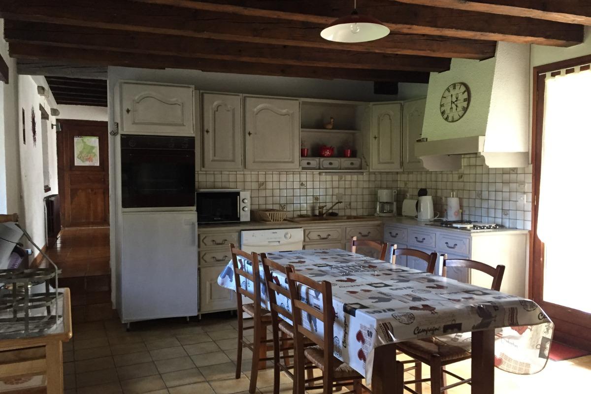 cuisine - Location de vacances - Sainte Marie De Campan