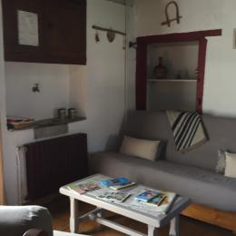 coin salon - Location de vacances - Sainte Marie De Campan