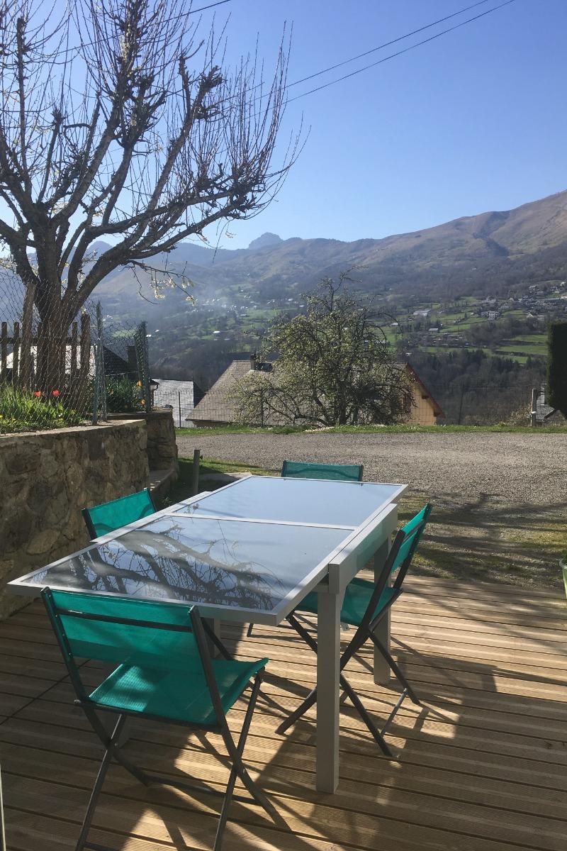 La terrasse - Location de vacances - Sireix