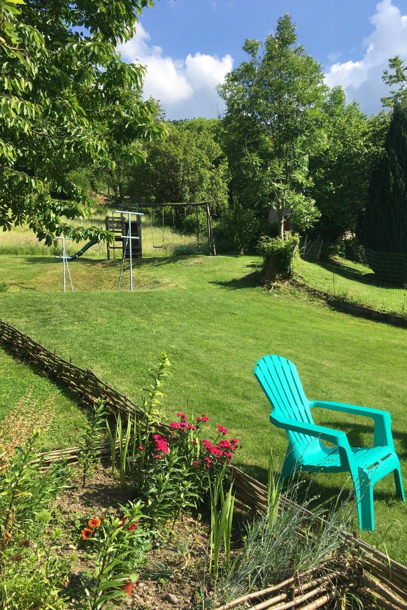 Le jardin - Location de vacances - Sireix